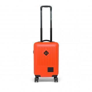 Herschel handel voeren op vermiljoen oranje koffer