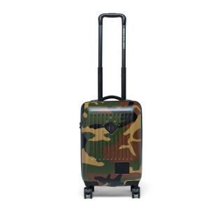 Koffer Herschel handel voeren op bos camo/vermiljoen