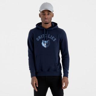 Nieuwe Era Hoodie met Memphis Grizzlies Team Logo