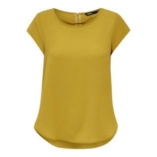 Dames-T-shirt Only onlvic solid ptm