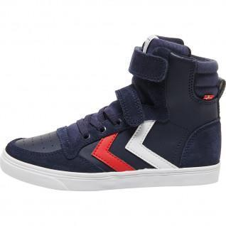 Junior Hummel slankere stadileren hoge sneakers
