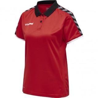 Hummel Vrouwen Polo Shirt Authentiek Functioneel