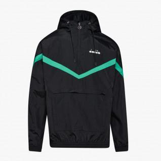 Diadora buitenspel 1/2 rits Hooded Jacket