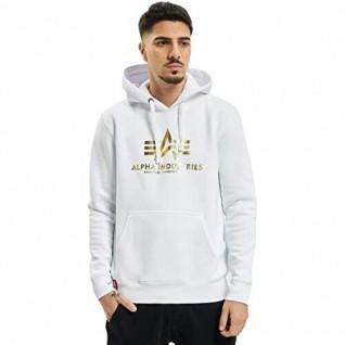 Alpha Industries Hooded Sweatshirt met Print