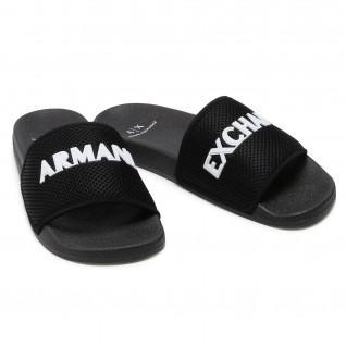 Armani Exchange flip-flops