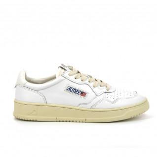 Autry Medalist LL15 Leder Wit/Witte Sneakers