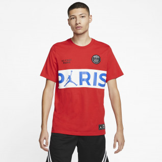 PSG T-shirt x Jordanië Wordmark