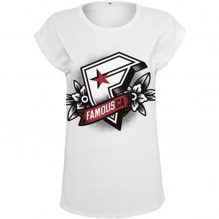 T-shirt vrouw Beroemde CA