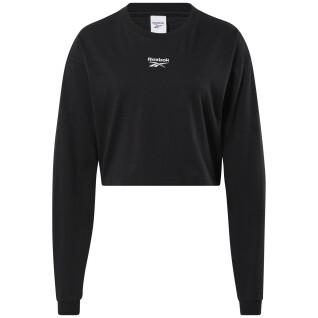 Dames t-shirt met lange mouwen Reebok Classics