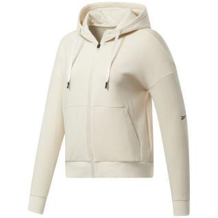 Hooded sweatshirt Reebok DreamBlend Cotton Full-Zip
