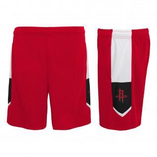 Outerstuff NBA Houston Rockets Kids Home Shorts