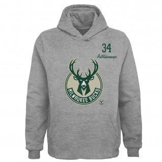 Kinderen Hoodie Outerstuff Player NBA Milwaukee Bucks