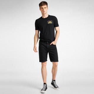 Lee Black Rinse Short