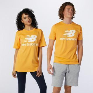 New Balance Essentials t-shirt met gestapeld logo
