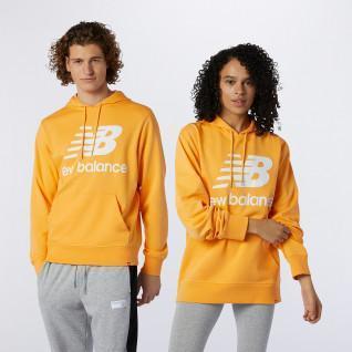 New Balance Essentials Gestapeld logo sweatshirt
