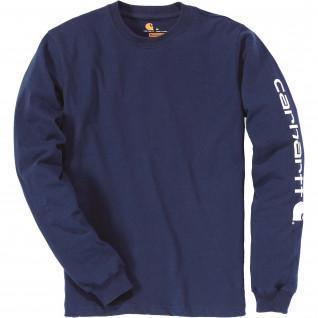 Carhartt Logo T-Shirt met lange mouwen