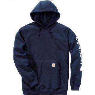 Carhartt Logo Hooded Sweatshirt
