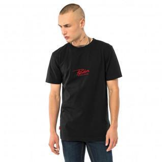 T-shirt Pusher bevestigen logo