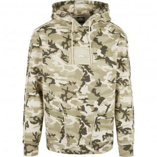 Sweatshirt Southpole vierkant embo