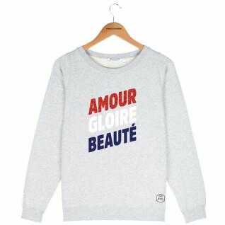 Sweatshirt ronde hals vrouw French Disorder Amour gloire beauté