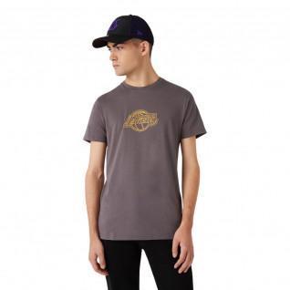 Nieuwe Era Coastal Heat Infill Los Angeles Lakers T-shirt