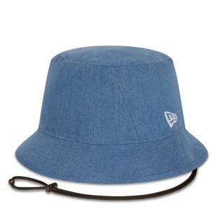 Bob hoed vrouw New Era gewassen denim