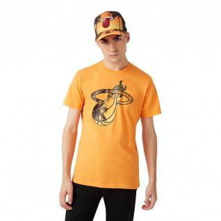 New Era NBA Coastal Heat Infill Miami Heat T-shirt