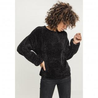 Sweatshirt vrouw Urban Klassieke chenille