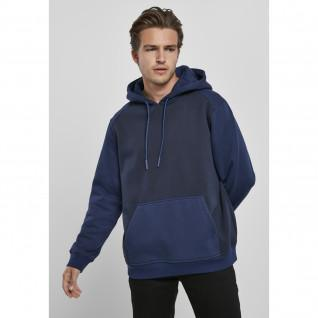 Urban Classics 2-tone fake raglan hoodie
