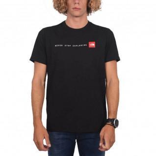 "Klassiek The North Face ""Never Stop Exploring"" T-shirt."