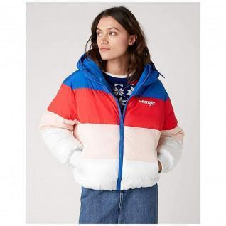 Wrangler Rainbow Puffer Woman Down Jacket