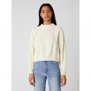 Wrangler Cable Knit trui voor vrouwen